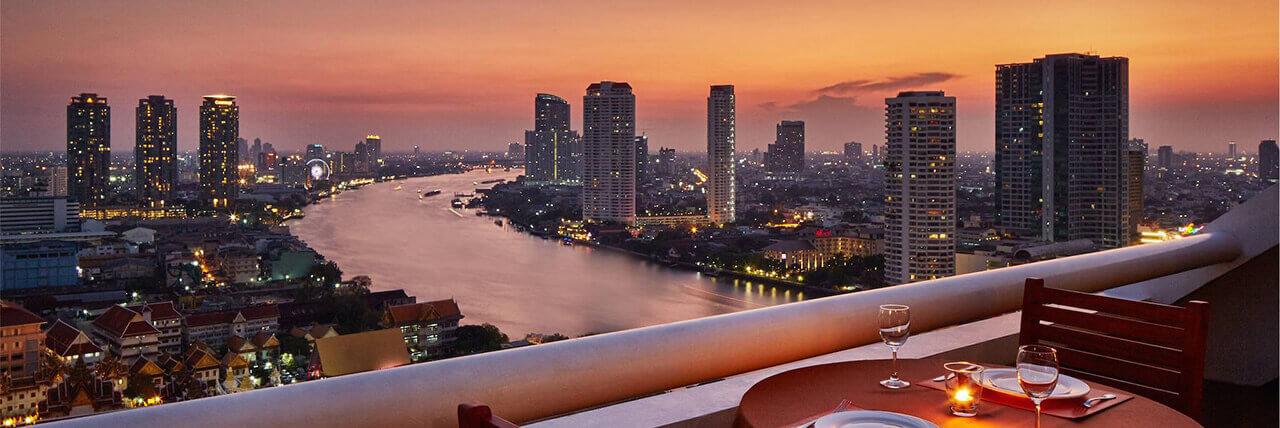 hotel on silom road  bangkok