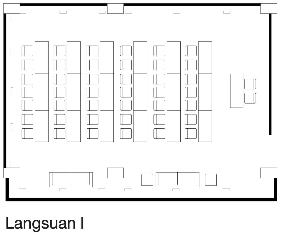 Chidlom Meeting Room Floor Plan