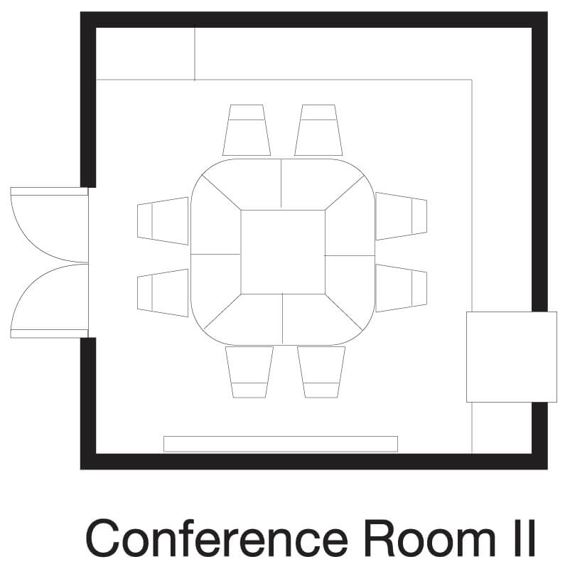 Silom Meeting Room Floor Plan