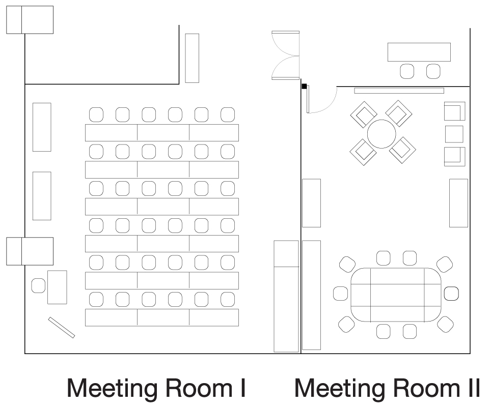 Sukhumvit Meeting Room Floor Plan